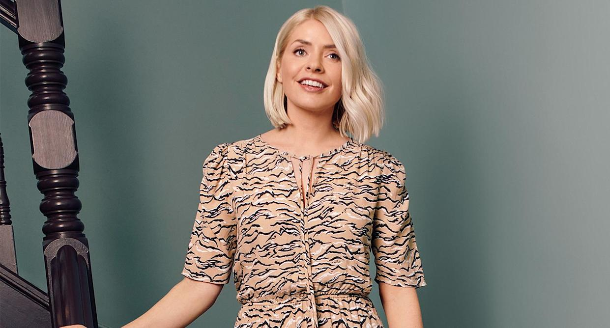 The M&S clothing we're adding to our basket along with the beauty bag. (Marks and Spencer)