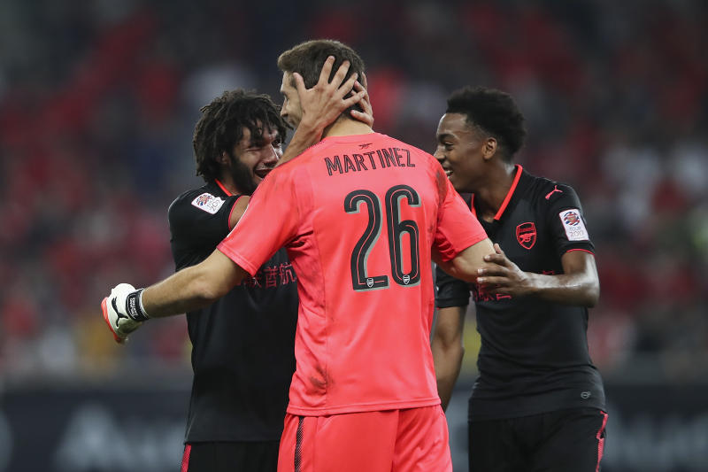 Keepers seal win for Arsenal over Bayern