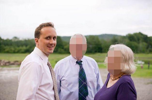 A photo posted by neo-Nazi Christopher Cantwell identifying Douglass Mackey, left. (Photo: )