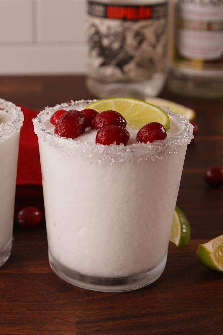 """<p>No snow? Lucky you! Whip these up instead.</p><p>Get the recipe from <a href=""""https://www.delish.com/cooking/recipe-ideas/recipes/a57117/white-christmas-margaritas-recipe/"""" rel=""""nofollow noopener"""" target=""""_blank"""" data-ylk=""""slk:Delish"""" class=""""link rapid-noclick-resp"""">Delish</a>.</p>"""