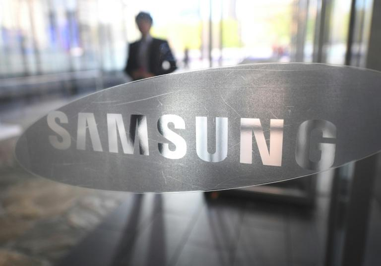 Samsung says its net profit for the first quarter of the year amounted to 7.68 trillion won ($6.7 billion), up 46 percent from a year ago