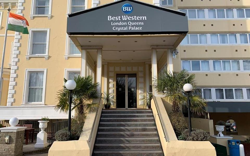 Best Western are lined up to become quarantine hotels - Getty