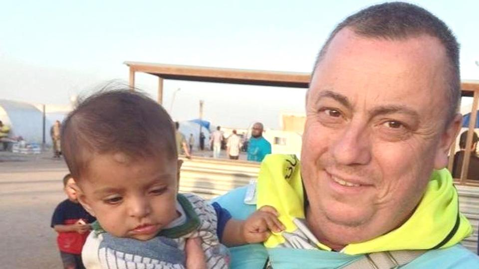 Alan Henning, the the British man held hostage by Islamic State, is a peaceful man, says his wife.