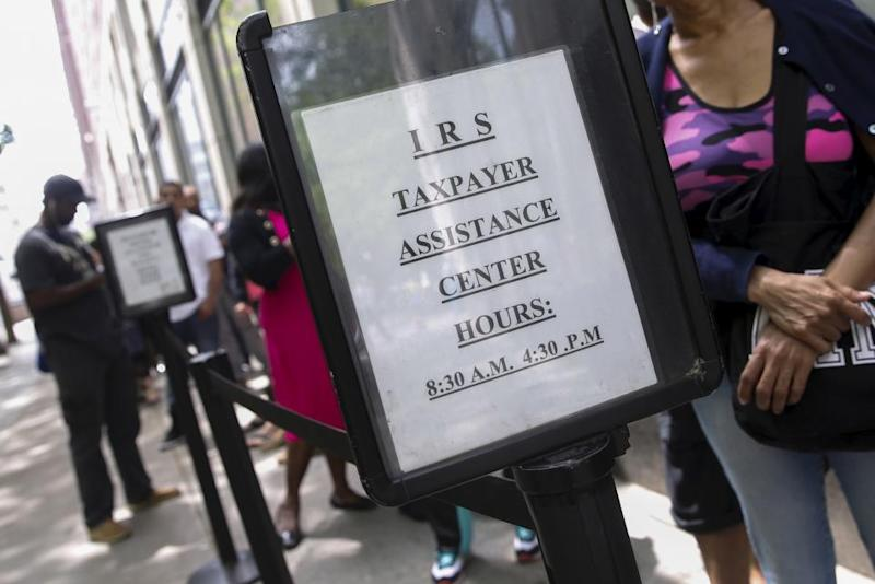 Almost  40 million people have yet to file taxes this year
