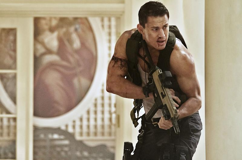 Channing Tatum in White House Down. (Sony Pictures)