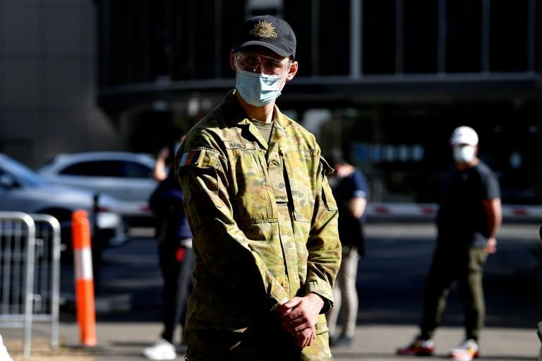 Around 1,000 defence force personnel are helping police implement restrictions, as weary residents increasingly bend the rules