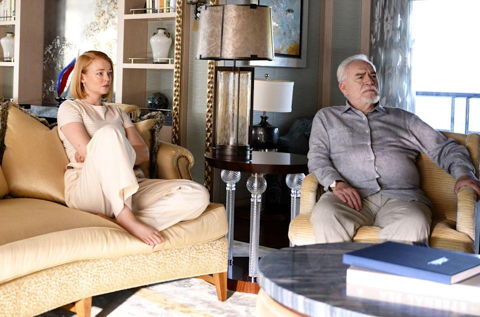 "<p>HBO's towering family drama about a media mogul and his dysfunctional children deservedly swept the Emmys this year, but its third season has been on an indefinite hold thanks to COVID. Showrunner Jesse Armstrong <a href=""https://variety.com/2020/tv/news/succession-production-restart-season-3-1234777164/"" rel=""nofollow noopener"" target=""_blank"" data-ylk=""slk:said a few months ago"" class=""link rapid-noclick-resp"">said a few months ago</a> that the hope was to begin filming season 3 ""before Christmas,"" and though nothing has been officially confirmed, rumor has it that production has now begun. That being the case, season 3 is likely to premiere in 2021—perhaps in the same late summer slot as season 2—so buckle up, fuckleheads. The new season will delve into the aftermath of Kendall's (Jeremy Strong) scorched-earth press conference, which puts Logan's (Brian Cox) future in jeopardy.</p>"