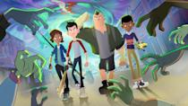 "<p>A show for the kids: Like <em>Daybreak</em>, this hourlong special takes place in a apocalyptic world, where treehouse-dwelling middle schoolers are on the hunt to fight zombies. It's based on the <a href=""https://www.amazon.com/Last-Kids-Earth-Max-Brallier/dp/0670016616?tag=syn-yahoo-20&ascsubtag=%5Bartid%7C10055.g.23570139%5Bsrc%7Cyahoo-us"" rel=""nofollow noopener"" target=""_blank"" data-ylk=""slk:series of books"" class=""link rapid-noclick-resp"">series of books</a> by Max Brallier.</p><p><a class=""link rapid-noclick-resp"" href=""https://www.netflix.com/watch/81058729"" rel=""nofollow noopener"" target=""_blank"" data-ylk=""slk:WATCH NOW"">WATCH NOW</a></p>"
