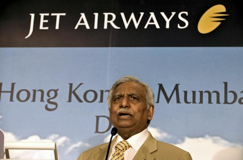 Naresh Goyal stepped down as chairman of Jet Airways and quit its board as part of a rescue plan for the beleaguered carrier he launched in 1993