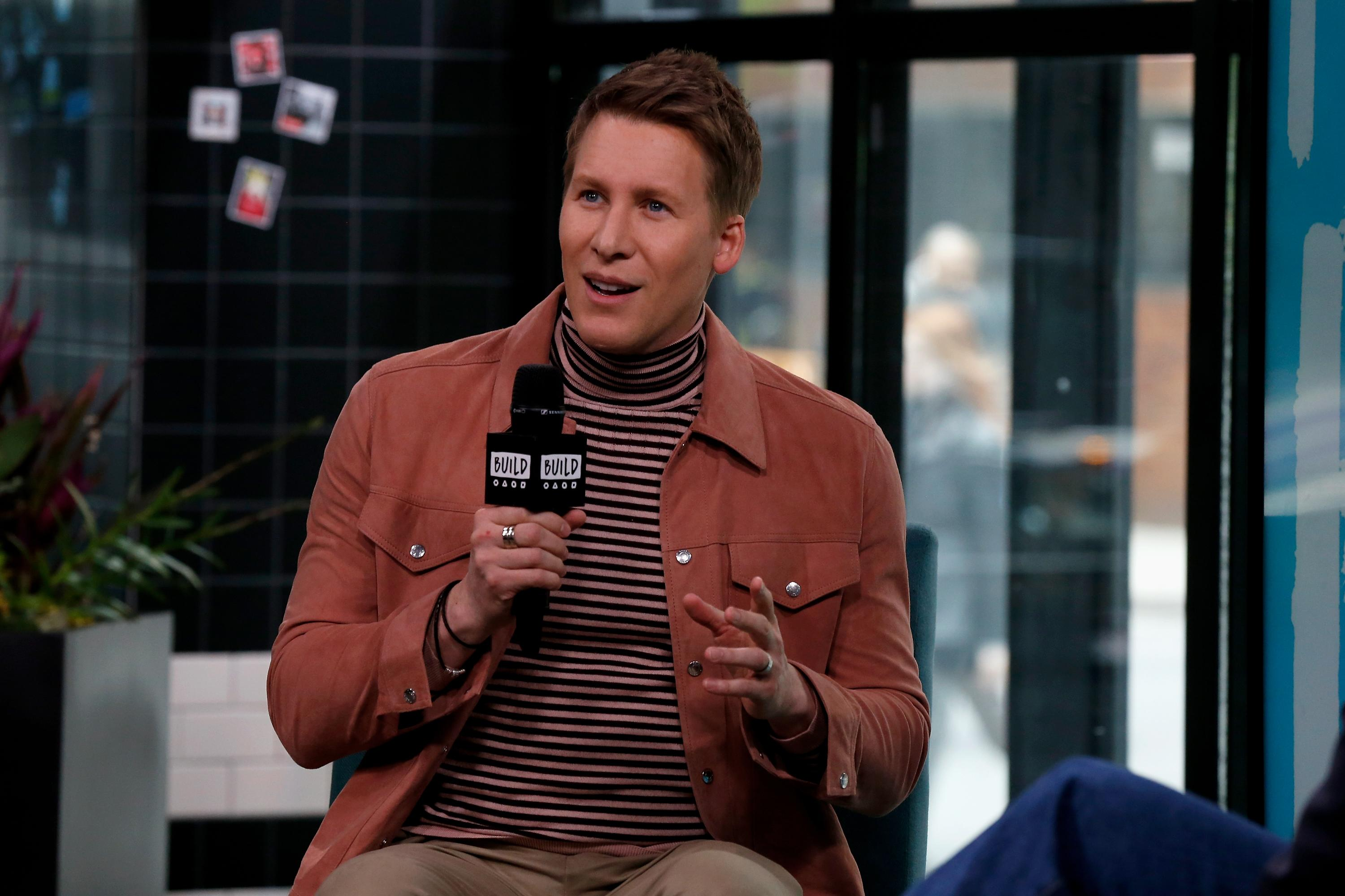 NEW YORK, NEW YORK - APRIL 30: Dustin Lance Black attends the Build Series to discuss 'Mama's Boy: A Story from Our Americas' at Build Studio on April 30, 2019 in New York City. (Photo by Dominik Bindl/Getty Images)