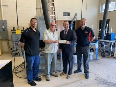 Franklinton High School in Franklinton, NC, received a CenturyLink Teachers and Technology grant for a project titled DesignEdge Skills for Today's Advanced Manufacturing Workplace.