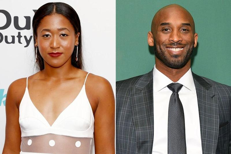 Naomi Osaka and Kobe Bryan | John Phillips/Getty Images; Dia Dipasupil/Getty Images