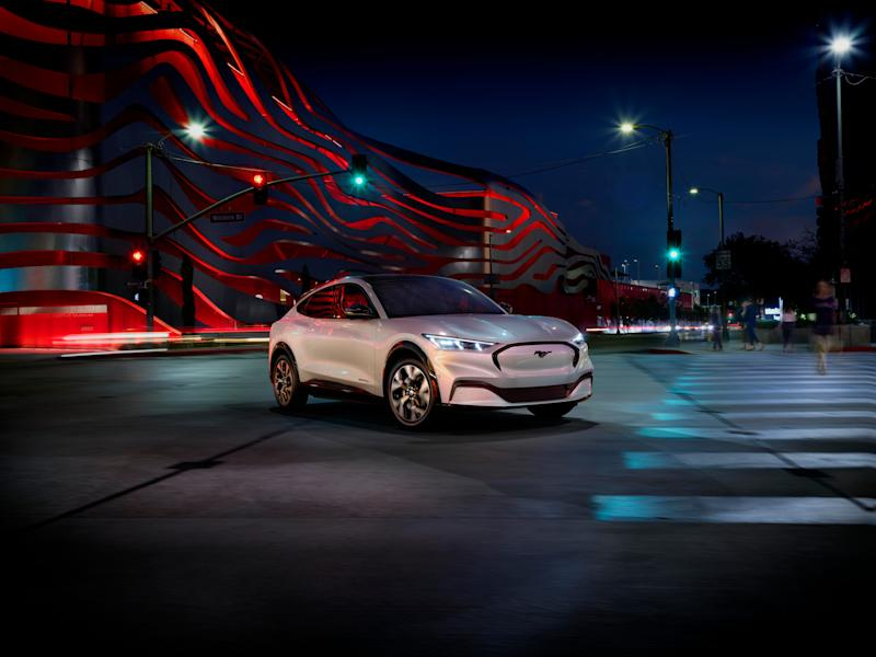 For the first time in 55 years, Ford is expanding its Mustang lineup, with another first, an all-electric Mustang, called the Mach-E. It's a four-door SUV with fast pickup and up to 300 miles of range between charges.