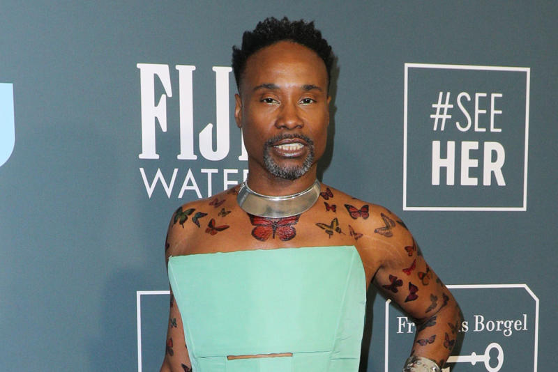 Billy Porter freed from