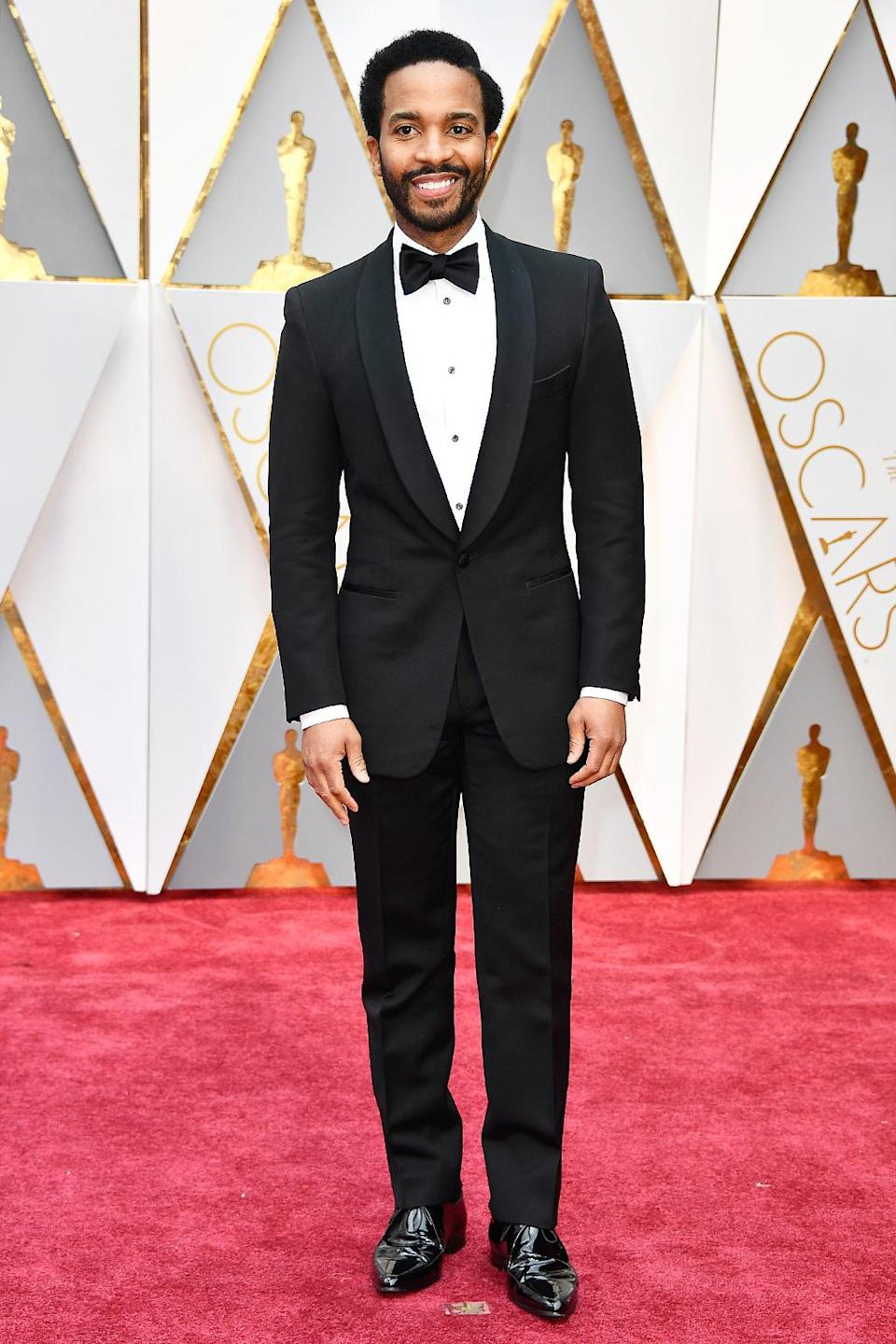 <p>Actor André Holland attends the 89th Annual Academy Awards at Hollywood & Highland Center on February 26, 2017 in Hollywood, California. (Photo by Frazer Harrison/Getty Images) </p>