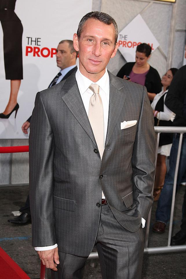 """<a href=""""http://movies.yahoo.com/movie/contributor/1800238574"""">Adam Shankman</a> at the Los Angeles premiere of <a href=""""http://movies.yahoo.com/movie/1810012112/info"""">The Proposal</a> - 06/01/2009"""