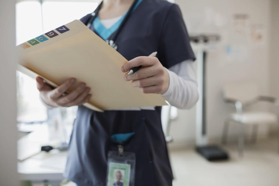 A man in New York City is suing a hospital for faxing his medical records to his workplace, effectively revealing his HIV-positive diagnosis. (Photo: Getty Images)