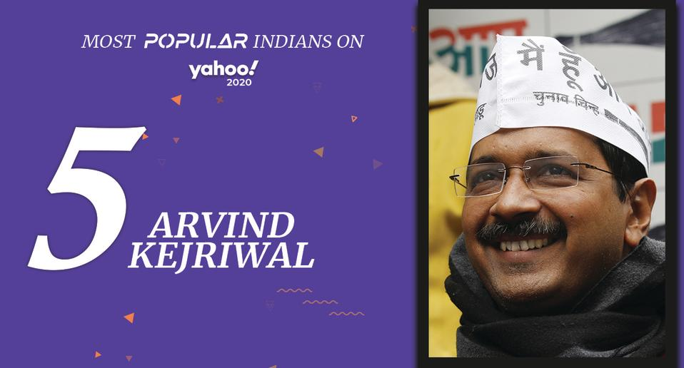 Arvind Kejriwal (born August 16, 1968) <br>Chief Minister of Delhi