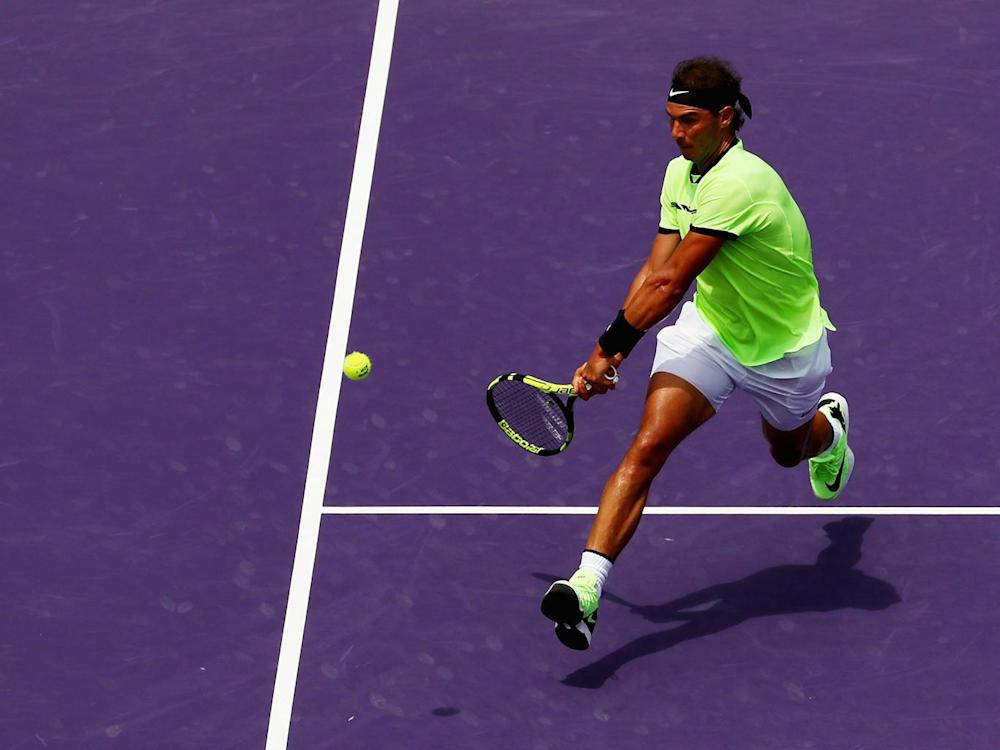 Nadal struggled in vain against Federer's class (Getty)