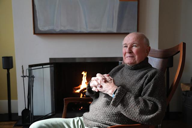 Terrence McNally Anfang März in seinem Zuhause in New York (Bild: Getty Images)