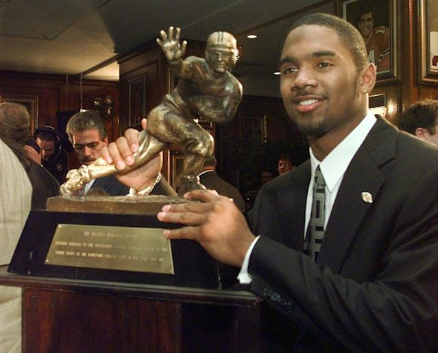 Michigan great Charles Woodson highlights a list of 75 players on the Hall of Fame ballot. (AP Photo/Adam Nadel)