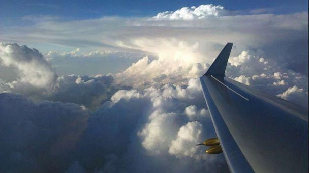 PHOTO: Overshooting top of a thunderstorm as seen from NASA's ER-2 aircraft. (Courtesy of NASA )
