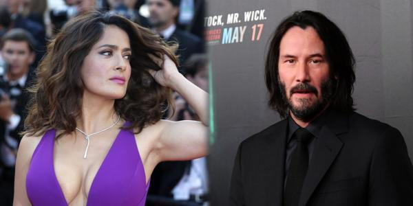 Salma Hayek and Keanu Reeves celebrate their birthday and fans celebrate it on social networks