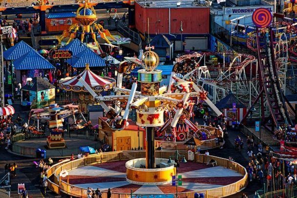 PHOTO: Luna Park, in Coney Island, Brooklyn, reopened on April 9, 2021, after being closed for a year and a half due to COVID-19. (Courtesy of Luna Park in Coney Island)