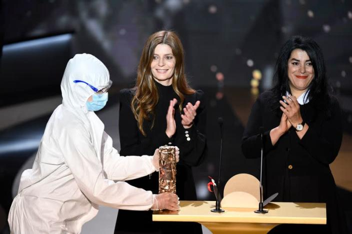 The 46th Cesar Awards ceremony in Paris during the COVID-19 pandemic