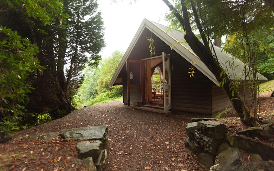 A simple chalet at the Four Seasons - DAVE HUNT