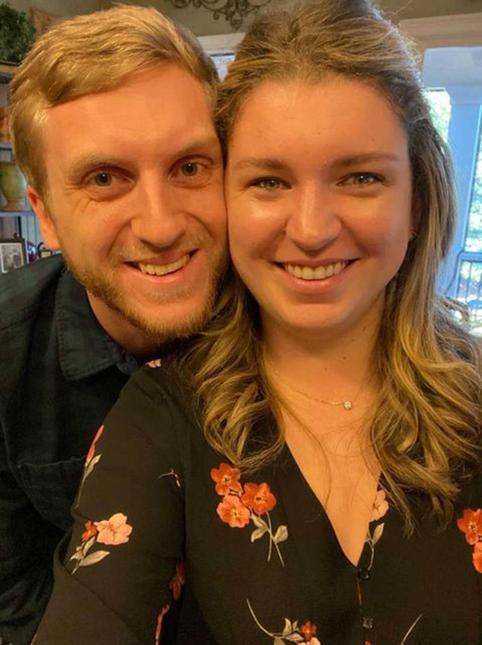 "<p><strong>Names:</strong> Sarah & James </p> <p><strong>Ages: </strong>28 & 29<br> <strong>Location:</strong> Atlanta<br> <strong>Submitted By: </strong>Sarah</p> <p> <br> In September, at much pressing from a girlfriend on a Zoom hang, I re-entered the online dating world with Bumble. It was the same old same old B.S. messages and conversations for the first 24 hours. Then I matched with James, with cute pictures and an interesting bio: ""How do you sustain a relationship? Communication, honesty and great sex."" I was sold! <br>  <br> There were some new things to adjust to in the world of virtual dating in COVID. We had to make an agreement together that while we were not exclusive — because that would be crazy before date No. 1 — we weren't going to pursue anyone else until we proved/disproved that we would be a good match.<br> <br> First date was virtual and went well. Our first in-person date went even better: seven hours together. Our second in-person date was at my house. Because, what are you gonna do in the height of COVID? Ten hours of talking and cooking in the privacy of your home is an ""intimacy level"" I didn't expect on date No. 2 and it set the tone for our relationship. <br> <br> Five months later, We've been together since Sept. 11. We've been sure we were each other's forever partner since Oct. 3. I've never looked at someone before and gone ""that's my husband"" until him. The butterflies are inexplicable.<br> <br> We've laughed, we've cried, we've commiserated on COVID, we've been stuck inside together, we've puzzled, we've watched seemingly everything on Netflix, and we've grown together in this period of isolation. Love is wonderfully hard and beautifully frustrating — but growing in the same space as another person is comforting. I literally don't know where I would be without him if we hadn't met. I'm forever grateful. </p>"