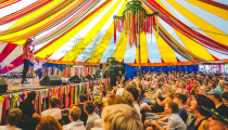 <p><b>Just like at Wilderness, Port Eliot is know for its talks and comedy shows. This year's literary line-up brings you a glorious mix of big names and more than its fair share of surprises… watch this space. </b></p>