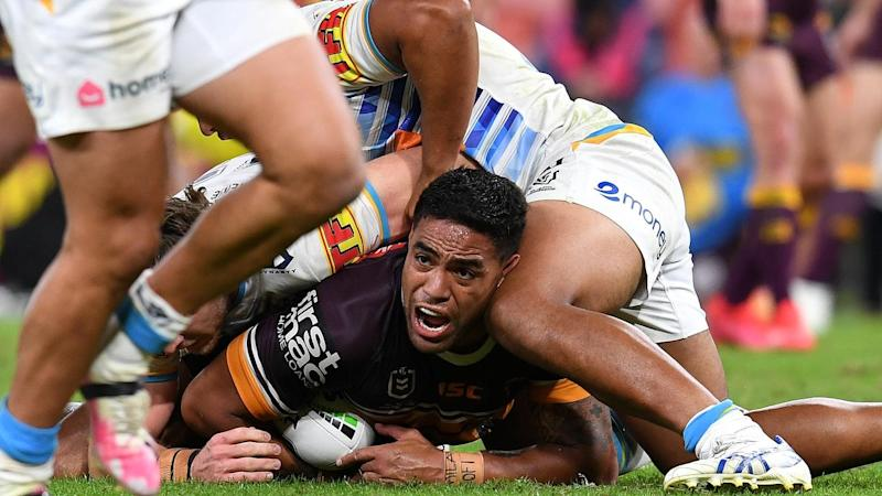 Joe Ofahengaue has become the latest Brisbane player to fall foul of the match review committee