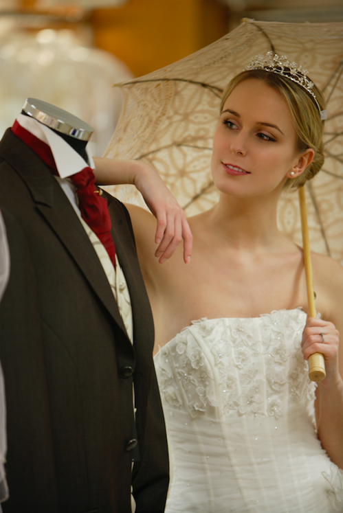One bride has asked her fiance's groomsmen to fork out $550 each on brand new tuxedos. Photo: Getty