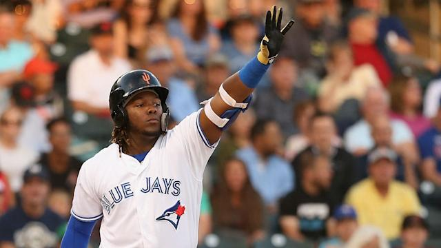 The Toronto Blue Jays are considering when to use the highly rated Vladimir Guerrero Jr..
