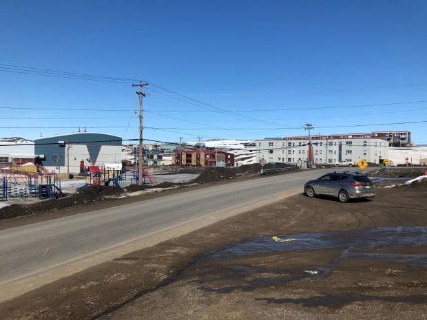 The City of Iqaluit declared a local state of emergency after COVID-19 cases rose to 81 in the city over the weekend.  (Sara Frizzell/CBC News - image credit)