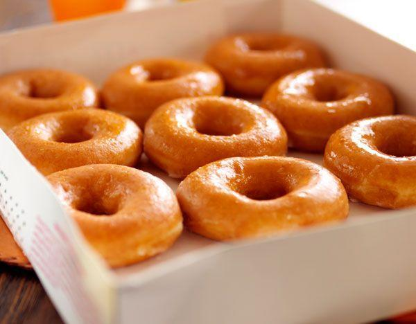 """<p>The recipe for <a href=""""/food-news/a47180/11-things-you-didnt-know-about-krispy-kreme/"""" data-ylk=""""slk:Krispy Kreme"""" class=""""link rapid-noclick-resp"""">Krispy Kreme</a>'s famous glazed donuts is kept under lock and key at the company's plant in Winston-Salem<span class=""""redactor-invisible-space"""">, NC.</span></p>"""