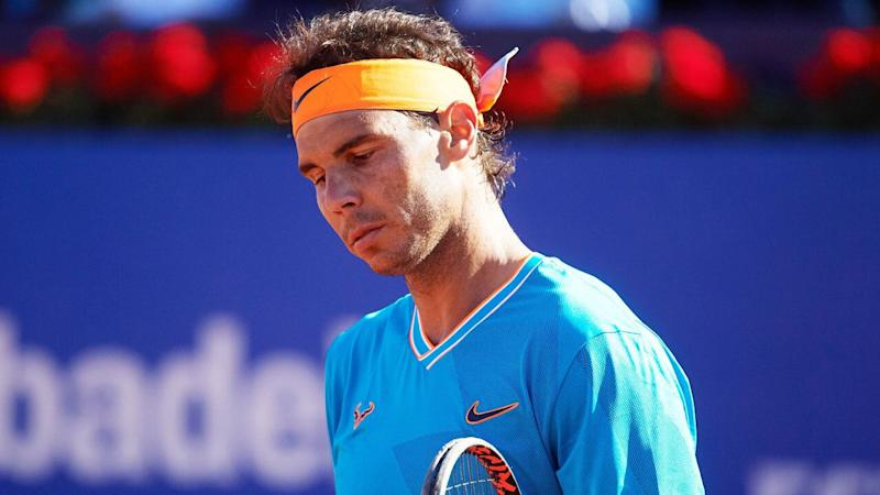 Rafael Nadal had never lost in the Barcelona Open semi-finals before this weekend. Pic: Getty