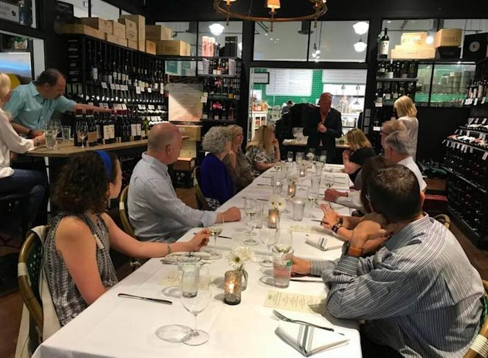 The Reid's Fine Foods Spanish Wine Dinner on Feb. 12 will include five glasses of Spanish wines paired with appetizers and four courses.