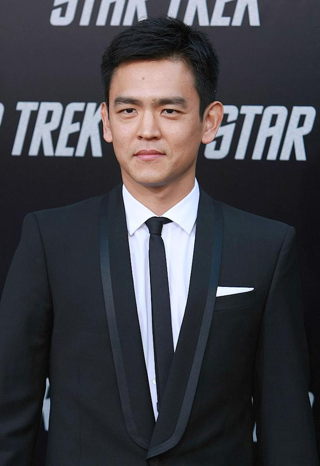 "<a href=""http://movies.yahoo.com/movie/contributor/1804486090"">John Cho</a> at the Los Angeles premiere of <a href=""http://movies.yahoo.com/movie/1809752801/info"">Star Trek</a> - 04/30/2009"