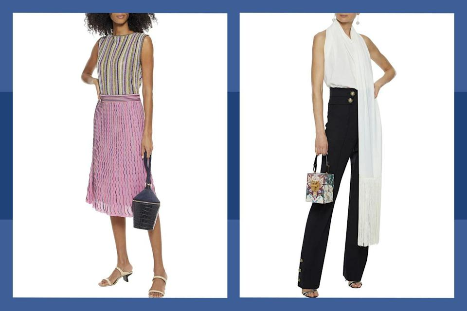 """<p>Get major savings on top designers with up to 80% off at <a href=""""https://www.theoutnet.com/en-us/"""" rel=""""nofollow noopener"""" target=""""_blank"""" data-ylk=""""slk:The Outnet"""" class=""""link rapid-noclick-resp"""">The Outnet</a> beginning May 24th. </p><p><a class=""""link rapid-noclick-resp"""" href=""""https://go.redirectingat.com?id=74968X1596630&url=https%3A%2F%2Fwww.theoutnet.com%2Fen-us%2F&sref=https%3A%2F%2Fwww.townandcountrymag.com%2Fstyle%2Ffashion-trends%2Fg36476778%2Fmemorial-day-sales-2021%2F"""" rel=""""nofollow noopener"""" target=""""_blank"""" data-ylk=""""slk:Shop the sale"""">Shop the sale</a></p><p><a class=""""link rapid-noclick-resp"""" href=""""https://www.townandcountrymag.com/style/fashion-trends/g36519463/outnet-sale-may-2021/"""" rel=""""nofollow noopener"""" target=""""_blank"""" data-ylk=""""slk:Shop our picks"""">Shop our picks</a></p>"""