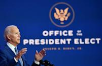 US President-elect Joe Biden has yet to be recognized by incumbent President Donald Trump