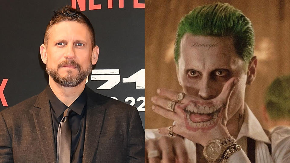 David Ayer has consistently defended Jared Leto's performance in 'Suicide Squad'. (Credit: Jun Sato/WireImage/Warner Bros)