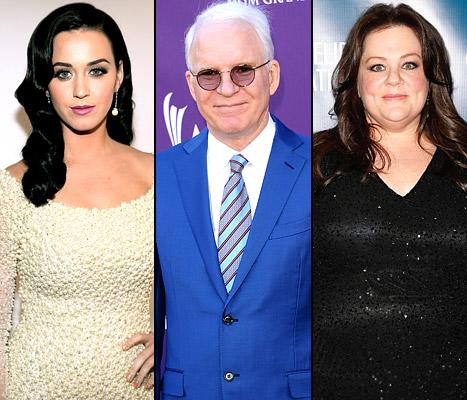 """Katy Perry """"Doesn't Approve"""" of Rihanna's Relationship With Chris Brown, Steve Martin, 67, Becomes First-Time Dad: Top 5 Stories of Today"""