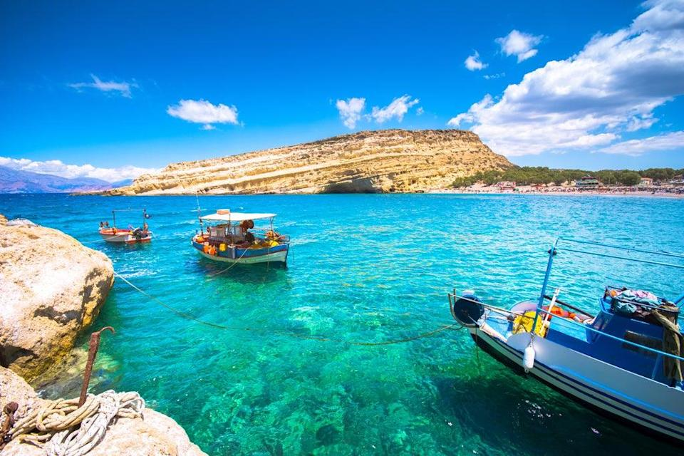 A layover in Crete could lower the cost of a journey  ((Alamy/PA))