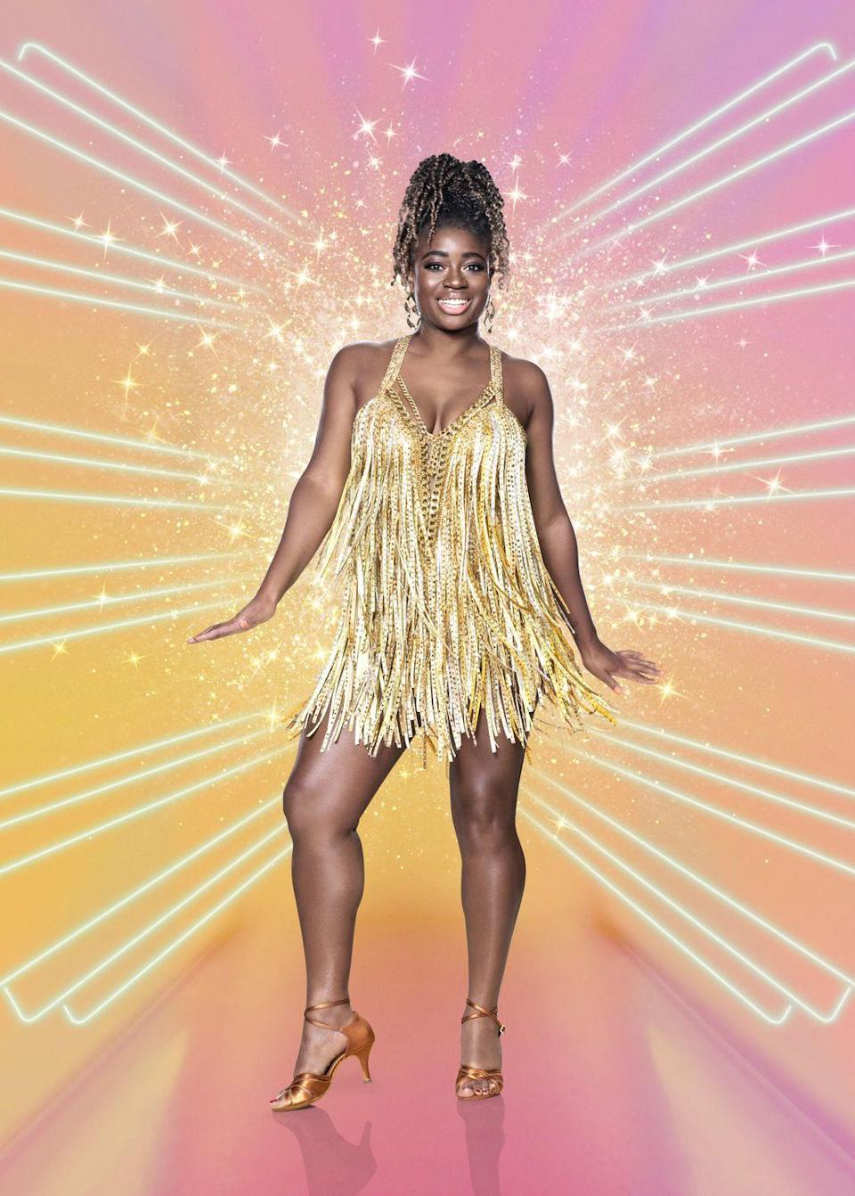 """<p><strong>Who is she? </strong>BBC Radio 1 DJ and September <a href=""""https://www.cosmopolitan.com/uk/entertainment/a33791836/clara-amfo-cosmopolitan-uk-october-cover/"""" rel=""""nofollow noopener"""" target=""""_blank"""" data-ylk=""""slk:Cosmopolitan UK cover star"""" class=""""link rapid-noclick-resp"""">Cosmopolitan UK cover star</a> Clara Amfo, 36. Announcing the news on Twitter, Strictly wrote, """"Hey DJ! We can't wait for @BBCR1's @claraamfo to hit the dance floor. She's spinning straight into #Strictly 2020.""""</p><p><strong>What's she said about Strictly? </strong>""""Look, Strictly is an amazing show,"""" she said of rumours in her Cosmopolitan cover interview. """"It's so sweet-spirited; nobody ever watches it with a bad intention and that's what I've always loved about it..."""" she said with a coy smile. Exciting!</p><p><a class=""""link rapid-noclick-resp"""" href=""""https://www.cosmopolitan.com/uk/entertainment/a33791836/clara-amfo-cosmopolitan-uk-october-cover/"""" rel=""""nofollow noopener"""" target=""""_blank"""" data-ylk=""""slk:READ CLARA'S COSMOPOLITAN UK INTERVIEW HERE"""">READ CLARA'S COSMOPOLITAN UK INTERVIEW HERE</a></p>"""