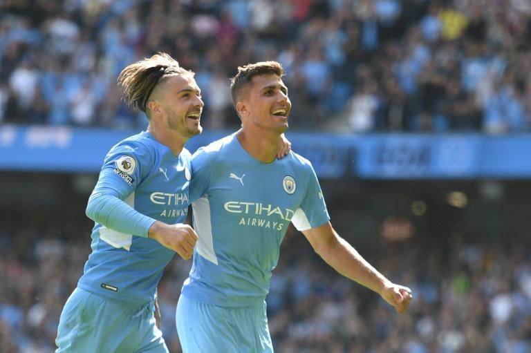 Manchester City crushed hapless Arsenal (AFP/Oli SCARFF)
