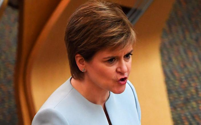 Nicola Sturgeon's spokesman said the claim 'does not accord or tally with our recollection of that particular meeting' - Andy Buchanan/Pool via Reuters