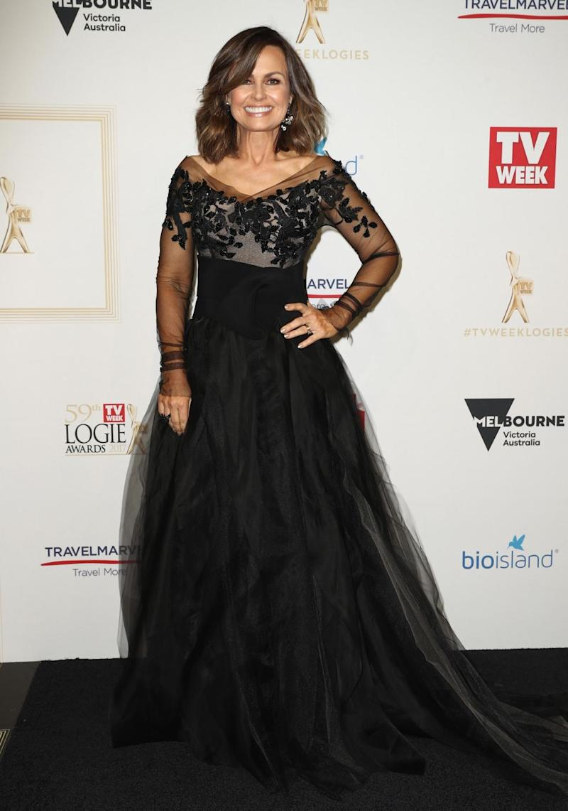 Nine bosses didn't know she had another option up her sleeve. Lisa is pictured here at the 2017 Logie Awards. Source: Getty