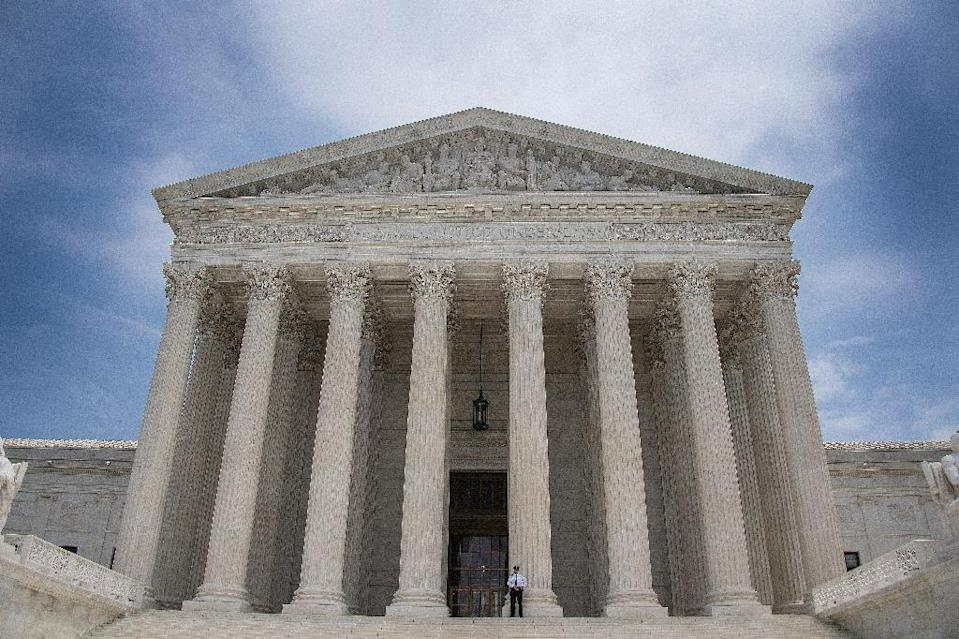 The US Supreme Court had earlier denied a stay of execution for Billy Ray Irick (AFP Photo/JIM WATSON)